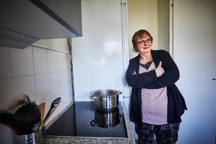 De keuken van Nel de Jong (62) in Alexanderpolder is vorig jaar al van het gas gehaald.