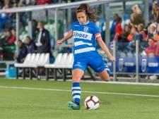 Roof en Olthof gidsen PEC Zwolle Vrouwen naar zege