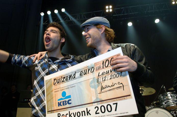 Bodyspasm was in 2007 de winnaar van dienst op Rockvonk.