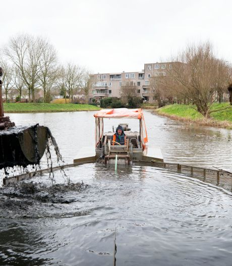 32.000 kuub bagger verwijderd uit waterlopen Haagse Beemden