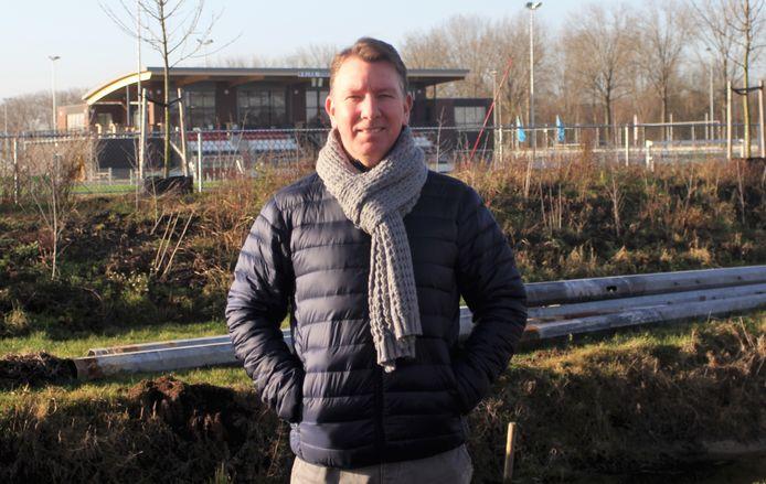Theo de Boon bij zijn nieuwe club Nivo Sparta