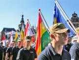De vlaggenparade: machtig mooi, al die vlaggen