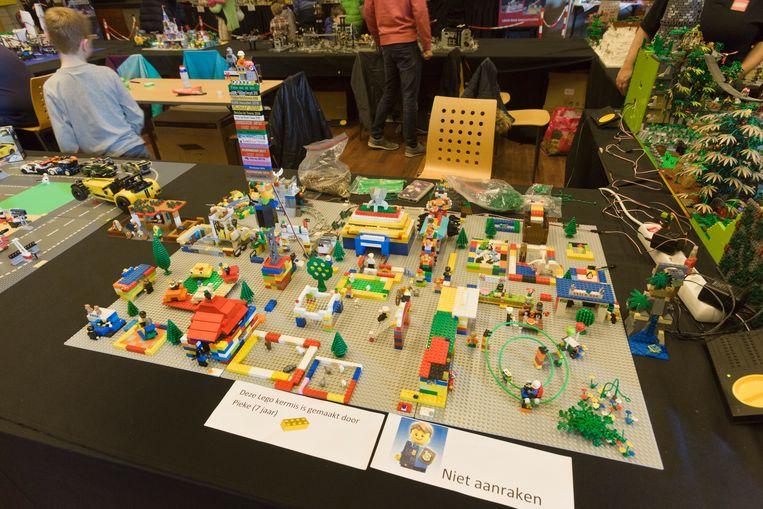 Een heus Legodorp.