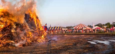 Afgeslankte brandstapel kan paaspret niet drukken in Budel