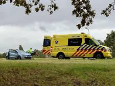 Lesauto betrokken bij ongeval op N342 in Oldenzaal: vrouw raakt gewond