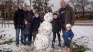 Sneeuwpret in Wetteren