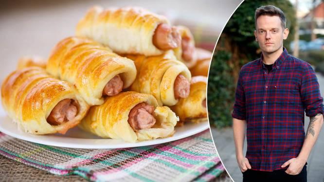 """Radiomaker en bakkerszoon Tom De Cock (37) deelt zijn favoriete familierecept: """"Papa's worstenbroodjes moesten perfect zijn"""""""