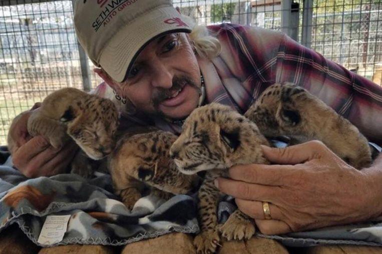 Joe Exotic werd de 'tijgerkoning' genoemd.