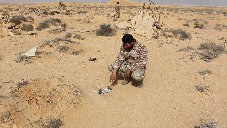 Libische soldaat.