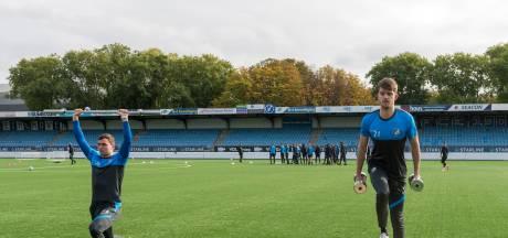 Een vriendschap geboren uit blessureleed: 'Knieën bepalen ons schema bij FC Eindhoven'