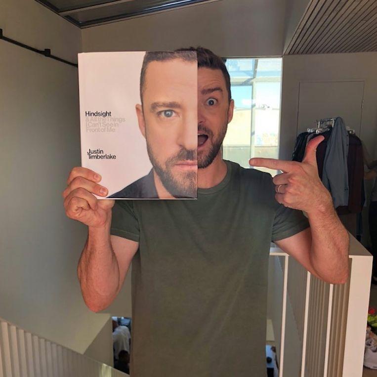 Justin Timberlake schrijft boek over zijn leven.