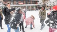 Roeselare kleurt voor tweede dag op rij sneeuwwit