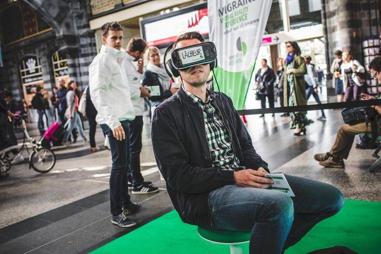 Pieter vergelijkt de virtuele aanval met een echte.