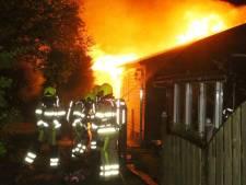 Weer chalet uitgebrand op camping Kerkdriel