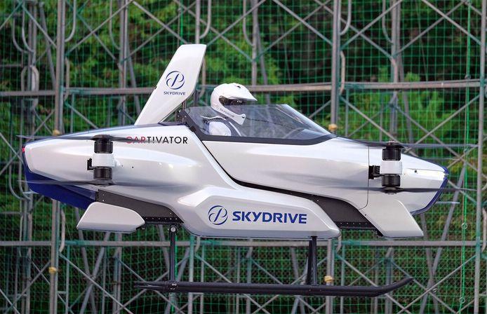 Skydrive's vliegende auto