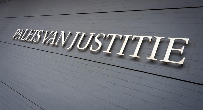 Het Paleis van Justitie in Den Haag