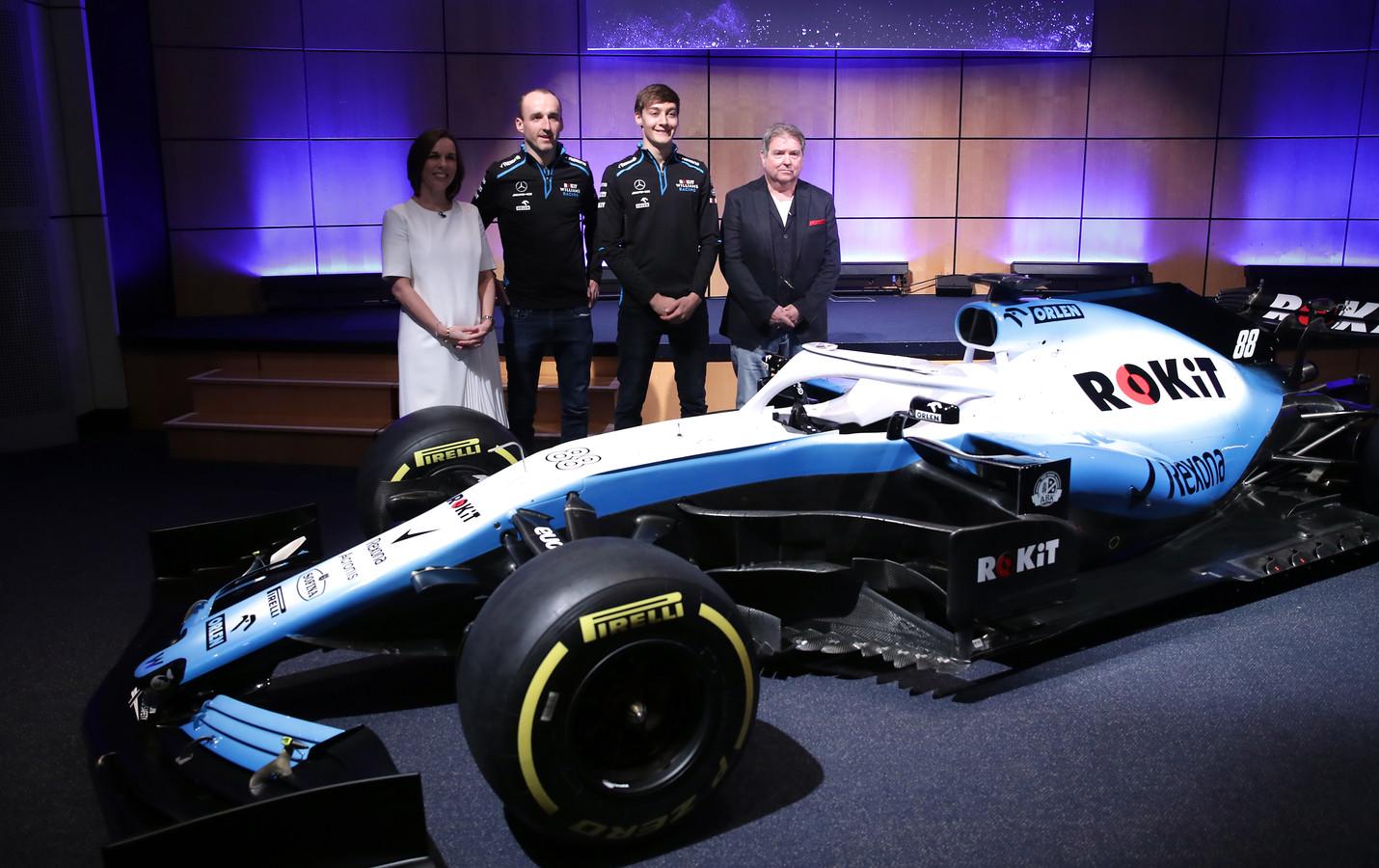 De FW42 van Williams