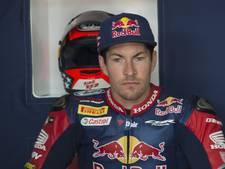 Motor van overleden Hayden als eerbetoon in pitbox op Donington Park