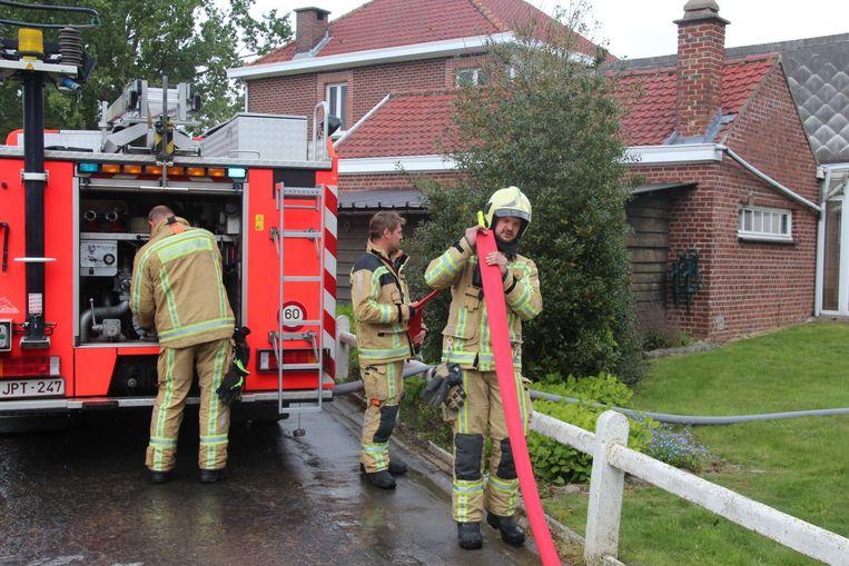 De brandweer kreeg het vuur snel onder controle.