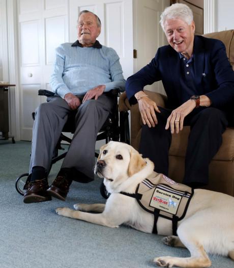 Eerbetoon voor Sully, de trouwe steun en toeverlaat van Bush sr.