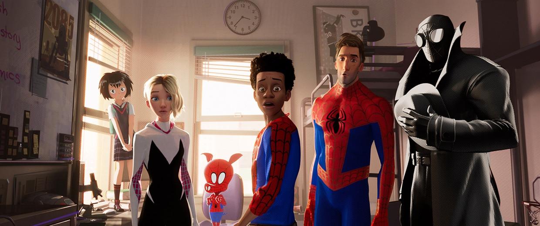 Spider-Man: Into the Spider Verse Beeld Netflix
