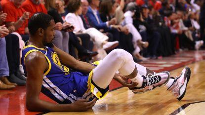 Kevin Durant weigert voorstel Warriors van 31,5 miljoen euro en wordt vrije speler