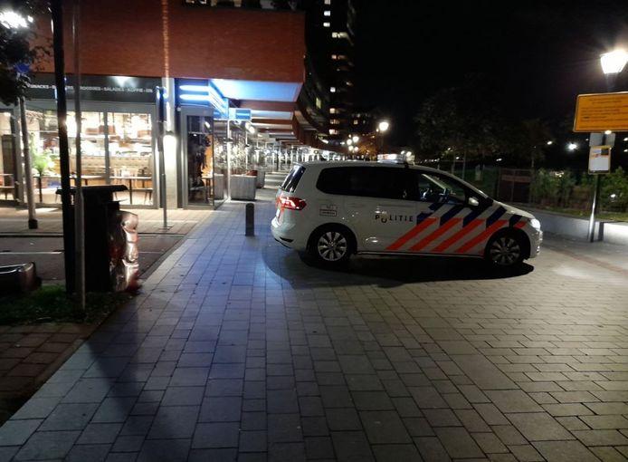 Bij een eerder incident, vorige maand, werden op de Sophiapromenade enkele prullenbakken opgeblazen.
