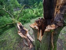 Tornado begon in Nederasselt en ging dwars over Nijmegen