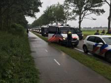 Tientallen arrestaties bij boerenprotest in Drenthe