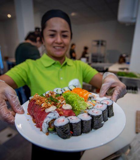 Wijchen zit tegenwoordig goed in de sushi met twee toko's: 'Eindelijk concurrentie'