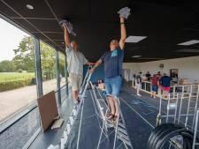 Tientallen vrijwilligers knappen sportkantine Virtus op