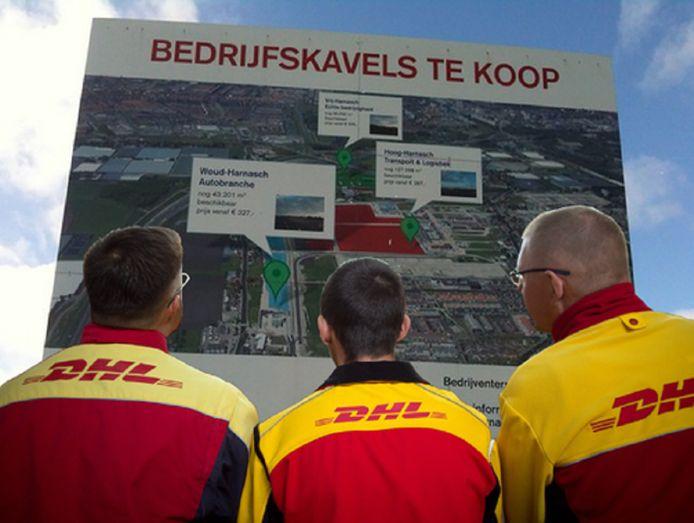 De daders hadden een jas van DHL aan (foto ter illustratie)