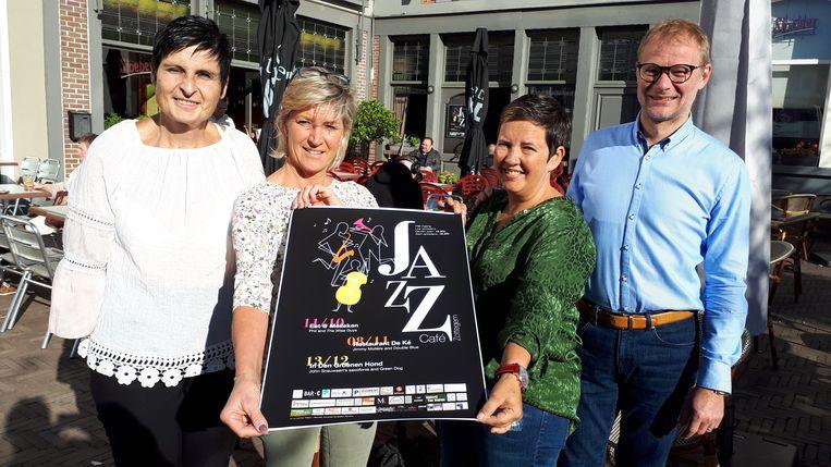De Ké, Eat@Meileken en In Den Groenen Hond organiseren Jazzcafé's