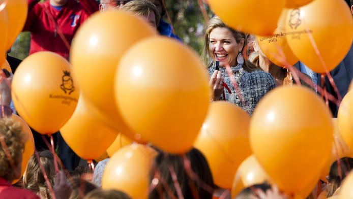 Komende Koningsdag is de laatste keer dat ballonnen de lucht ingaan.