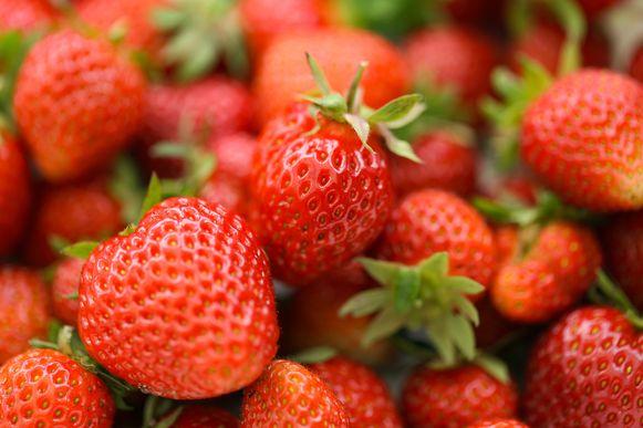 De dieven bleken echte aardbeienliefhebbers. (illustratiebeeld)