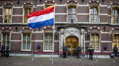 Poederbrief in Binnenhof in Den Haag bij redactie De Telegraaf