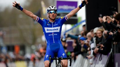 Deceuninck-Quick.Step wint na veertien jaar nog eens de Omloop, Stybar is Van Avermaet en Wellens te slim af