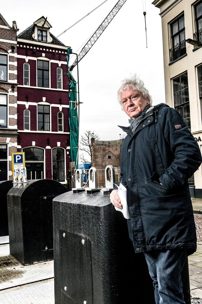 Jacques Struis, buurman van theater De Viking.