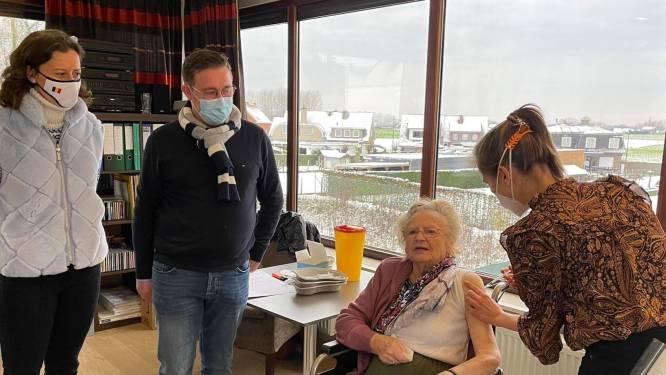 Bewoners van WZC Groendorp hebben vaccinatie gekregen