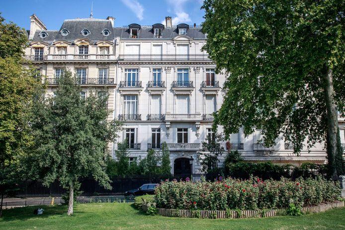 De avenue Foch is één van de duurste straten van Parijs. Jeffrey Epstein had er ook een woning.