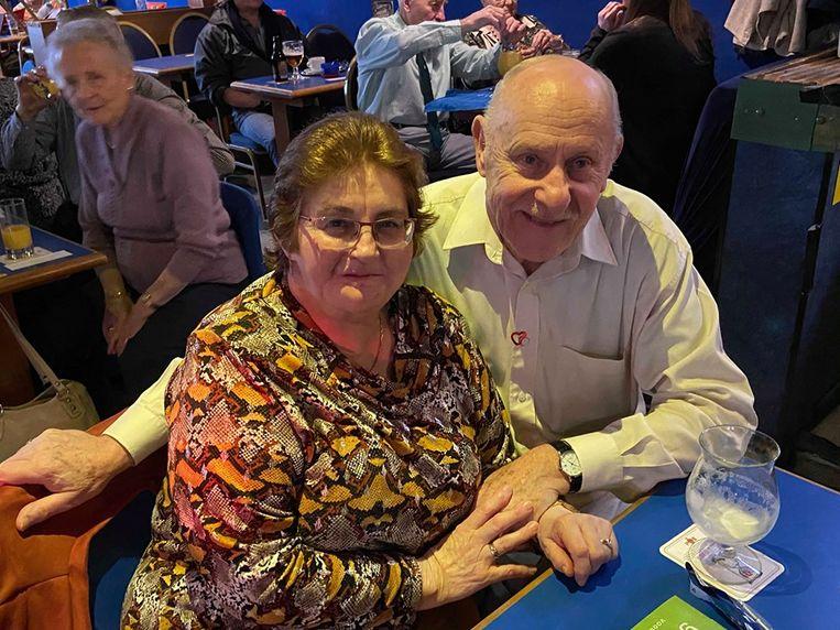 Suzanna Maes (68) en Ludo Claessens (76) uit Malle houden er ook van naar het dansen te kijken.