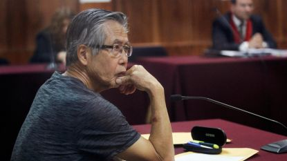 Peruaanse oud-president Fujimori na gratie weer voor rechter: nu voor moord op zes boeren