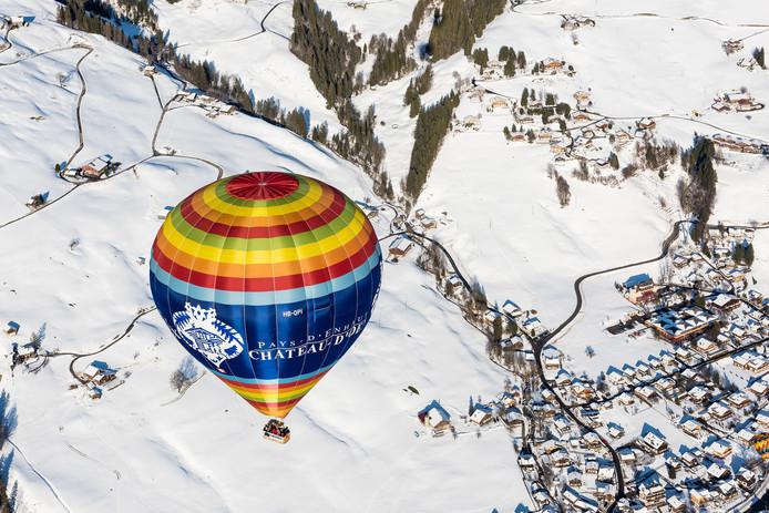 38ème Festival International de Ballons de Château-d'oex Ballonvaren Zwitserland
