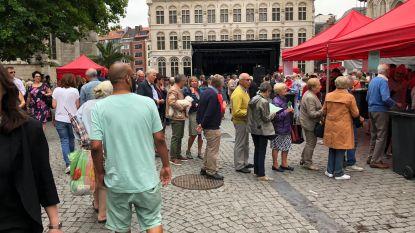 Volksfeest om vernieuwing historische stadskern af te sluiten