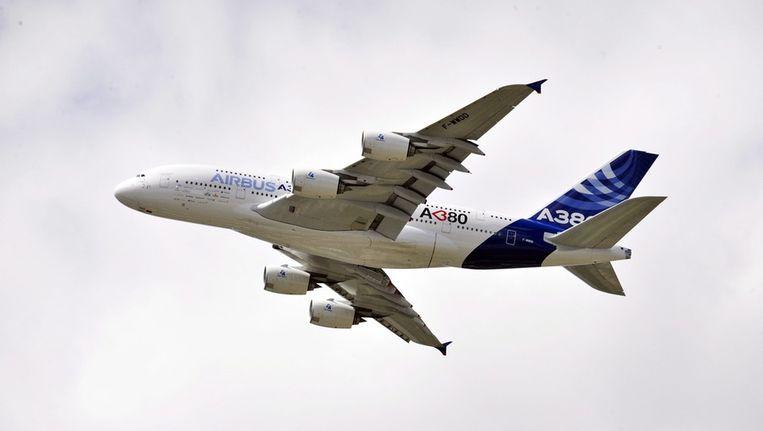 Een Airbus A380 Beeld epa