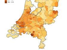 Bladel heeft relatief gezien met afstand de meeste besmettingen, Brabant net onder landelijk gemiddelde