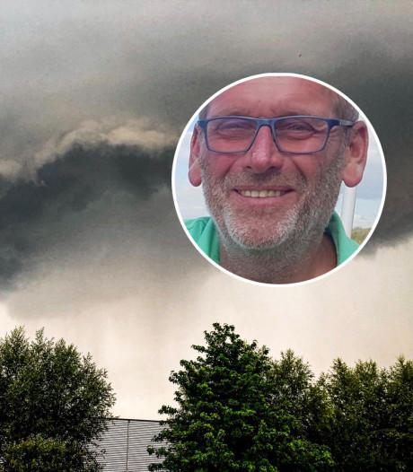 Weerman uit Terwolde na bizarre wolkbreuk boven Deventer: 'We moeten ermee leren leven'