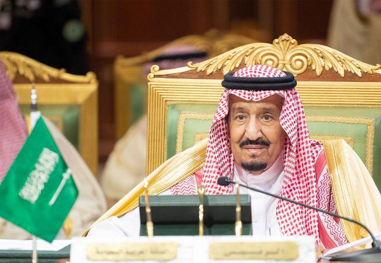 Koning Salman zit op de troon sinds 2015.