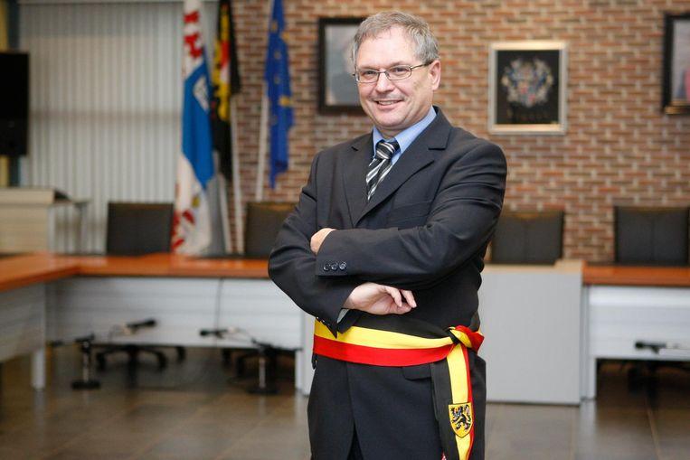 Marc Wijnants, voorzitter van de PZ LAN en burgemeester van Linter.