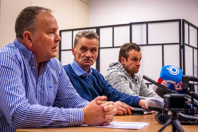 De organisatie van het Vreugdevuur in Scheveningen